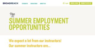 Broadreach Careers Portal