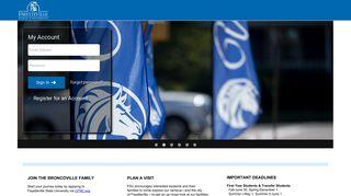 Broncoville Admissions Portal