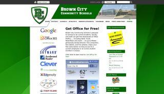 Brown City Portal