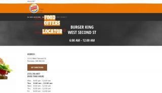 Burger King Portales Nm