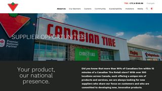 Canadian Tire Vendor Gateway Supplier Portal