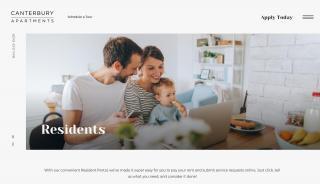 Canterbury Apartments Resident Portal