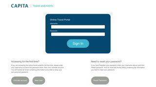 Capita Travel Portal