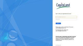 Capitaland Webmail Login