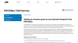 Captive Portal Fritzbox
