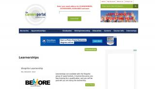 Careers Portal Learnerships