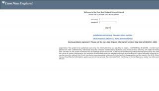Carenewengland Home Portal