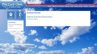 Cecil Clinic Portal