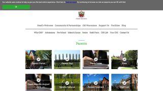 Cheadle Hulme School Parent Portal