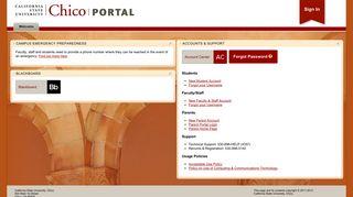 Chico Web Portal