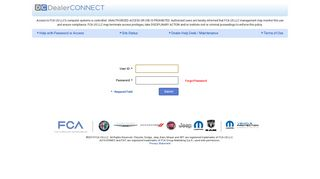 Chrysler Dealer Login