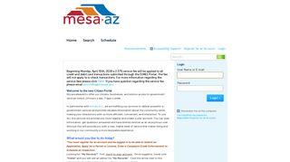 City Of Mesa Permit Portal
