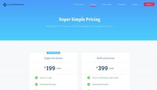 Client Portal Pricing