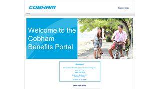 Cobham Benefits Portal