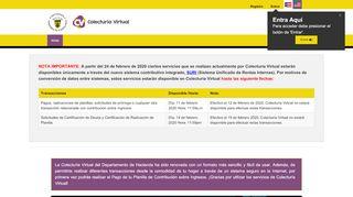 Colecturía Virtual Https Colecturia Hacienda Gobierno Pr Portal