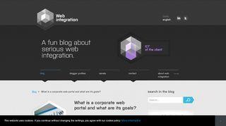 Corporate Portal Benefits