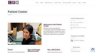 Corvallis Family Medicine Portal