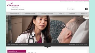 Covenant Healthcare My Chart Login
