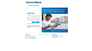 Covermore Travel Insurance Agent Login