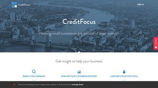 Credit Focus Login