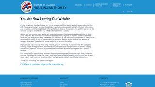 Dc Housing Portal