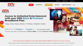 Den Broadband Login