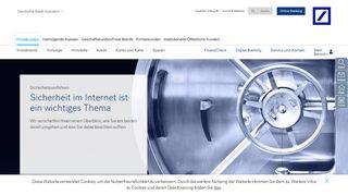 Deutsche Bank Itan Login
