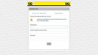 Dollar General Benefits Enrollment Portal