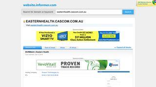 Eastern Health Cascom Login