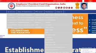 Epf Website Login Page