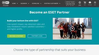 Eset Partner Portal