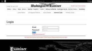 Examiner Com Login