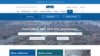 External Nyc Careers Portal