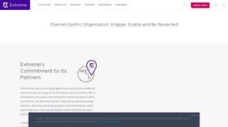Extreme Networks Partner Portal Login