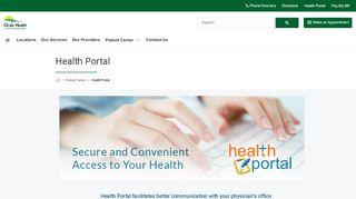 Family Care Specialist Portal