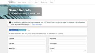 Fcmc Public Records Portal