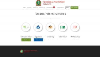 Federal Polytechnic Nasarawa Admission Portal