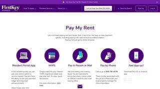 First Key Homes Resident Portal