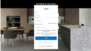 Fisher Paykel Login