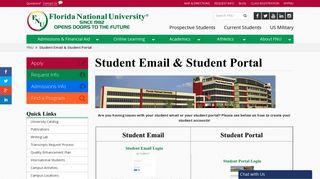 Fnu Student Email Login