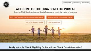Food Stamp Benefit Portal