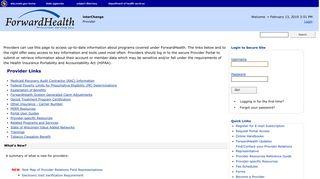Forwardhealth Provider Portal