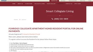 Foxridge Resident Portal