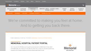 Fremont Memorial Hospital Portal