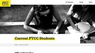 Ftcc Email Login
