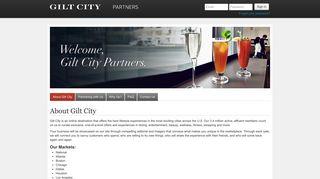 Gilt City Portal