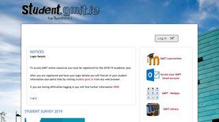 Gmit Student Portal