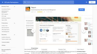 Google Apps Intranet Portal