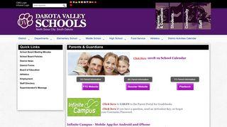 Gradebook Portal Dakota Valley