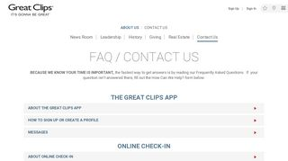Great Clips Webmail Login